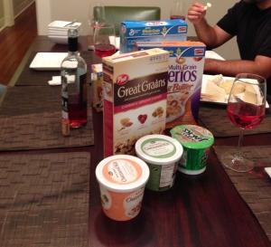 fed Up Food Cereal for Dinner