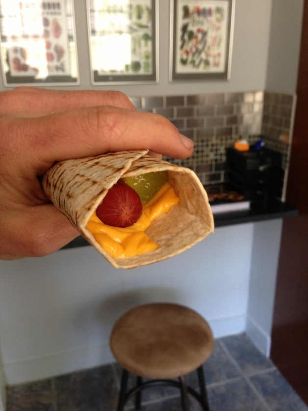 Fed Up Food Hotdog tortilla 1