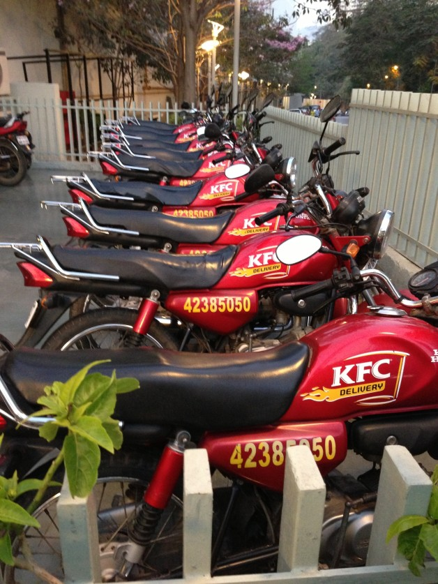 Fed Up Food KFC Scooters