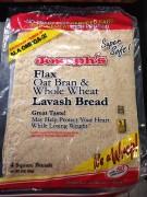 Fed Up Food Flax Wrap
