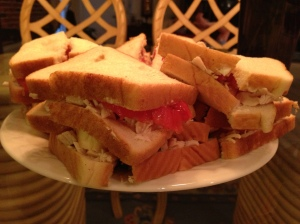 Fed Up Food Turkey Sandwich